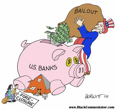 Top Executives At Bailed Out Banks Still Employed