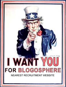 Uncle Sam wants you -- to blog!