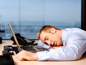 What to Say If You're Caught Sleeping in Your Cubicle