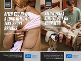 Graphic CDC Ads Exhort Smokers Not To Puff Their Lives Away