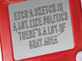 Etch A Sketch Politics Inspired Ad Campaign
