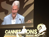 Clinton Urges Ad Industry To Use Reach To Influence World Issues