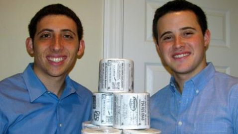 Brothers from New York Create Toilet Paper with Advertisements