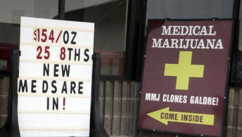 Advertisements for Medical Marijuana