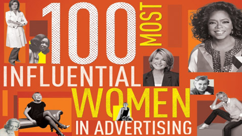 Ad Age Honors The 100 Most Influential Women in Advertising