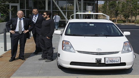 California Gives Go-Ahead to Driverless Vehicles