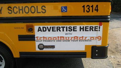 New Jersey School District and Bus Advertisements