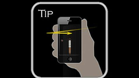 Smoking Applications on Smartphones