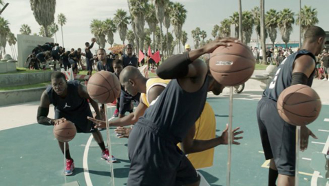 New Chris Paul Ad Does Not Feature The Player: 90 Lookalikes Create Live Frozen Moments