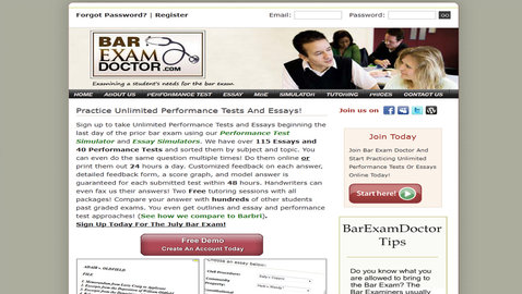 Professional License Test Prep Technology Simulates Exam Conditions