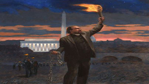 Artist Releases Anti-Obama Painting To Expose Democratic Hypocrisy And Black Enslavement
