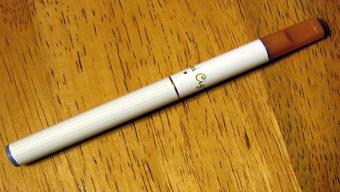 The Most Amazing Thing About This Cigarette? It Isn't One:  Campaigns For E-Cigarettes Take-On Conventional Cigarettes