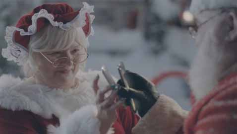 Samsung's New Ad Delivers Sexual Connotation Between Santa And His Wife Layla