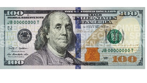 New $100 Bill Difficult to Counterfeit