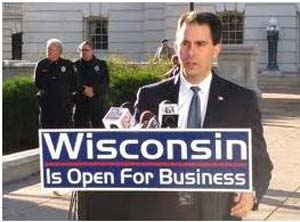 Governor of Wisconsin Touting Employment for Disabled
