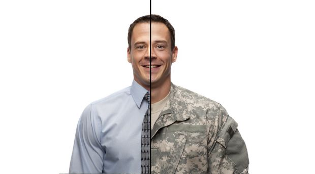 Transitioning from military to civilian work