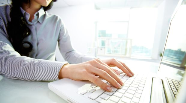 Typing or word processing services require someone with good typing skills