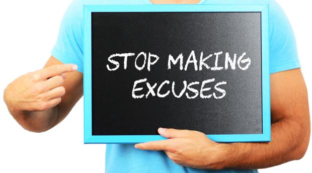 Stop Making Excuses at Work – Avoid This Three Letter Word