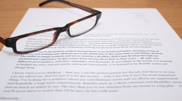 A Cover Letter Doesn't Need to Be Intimidating