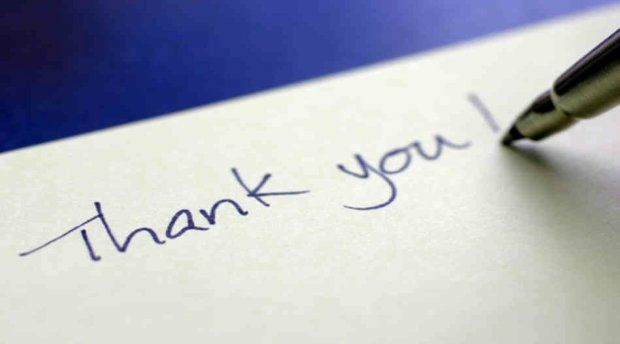 5 Rules When Writing an Interview Thank You Note