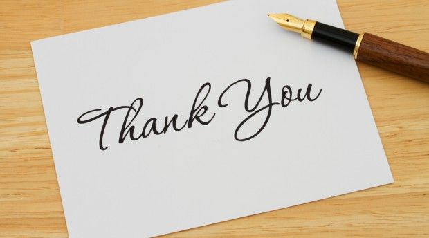 Top Mistakes on Thank You Notes
