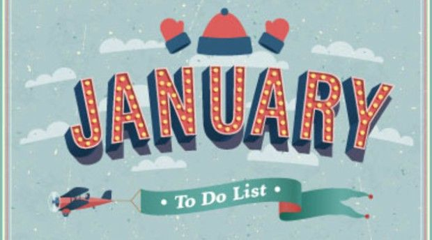Must-Do's for January