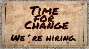 Hiring change