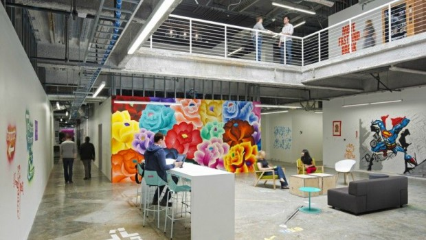 10 Companies with Cool Offices
