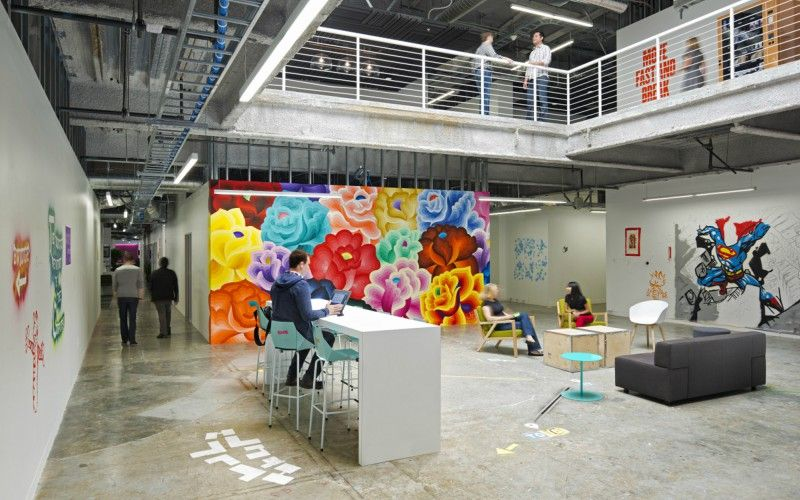 Cool Office Art. 10 Companies With Cool Offices Office Art