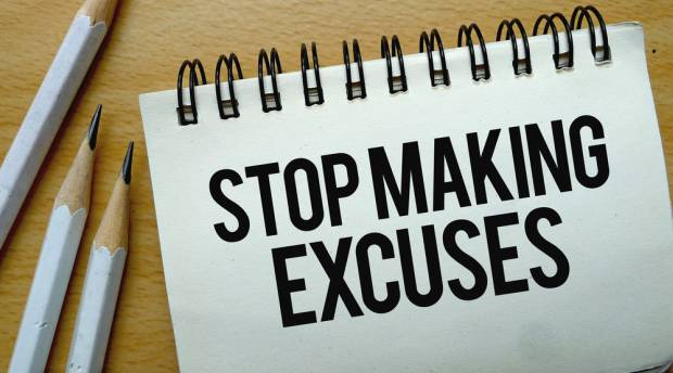 Find out how to stop making excuses and start your job search.